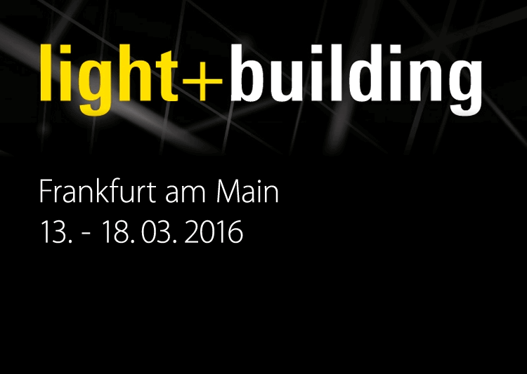 light+building 2016 - Messe Frankfurt