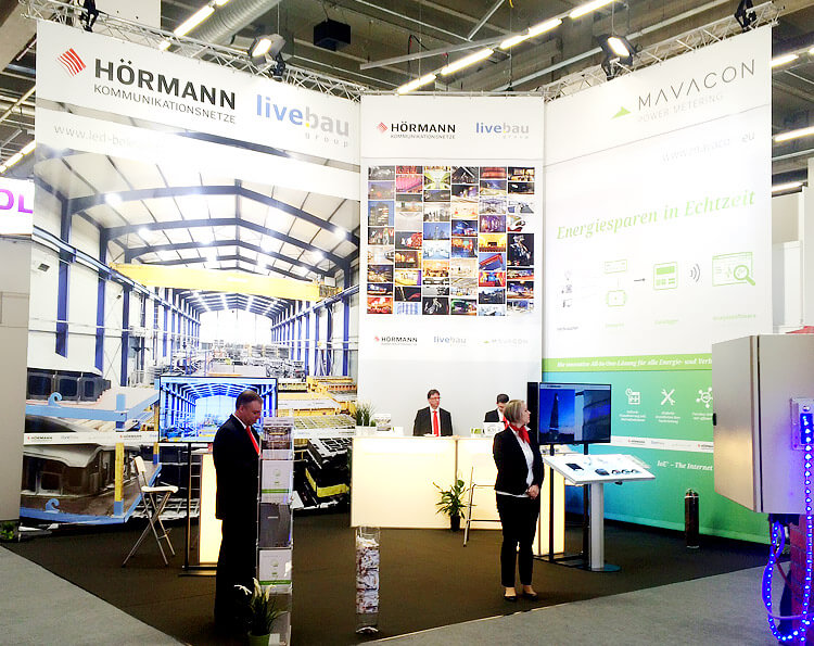Unser Messestand auf der light+building 2016 - Messe Frankfurt